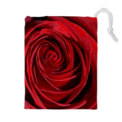 Beautifully Red Drawstring Pouches (extra Large)