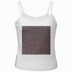 GRANITE RED-GREY White Spaghetti Tanks