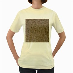 GRANITE RED-GREY Women s Yellow T-Shirt