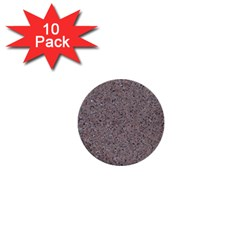 GRANITE RED-GREY 1  Mini Buttons (10 pack)