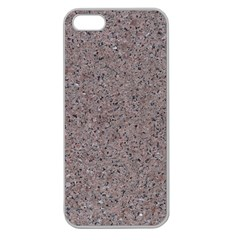 GRANITE RED-GREY Apple Seamless iPhone 5 Case (Clear)