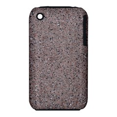 GRANITE RED-GREY Apple iPhone 3G/3GS Hardshell Case (PC+Silicone)