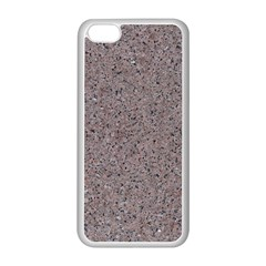 GRANITE RED-GREY Apple iPhone 5C Seamless Case (White)