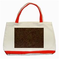 GRANITE RED-BROWN Classic Tote Bag (Red)