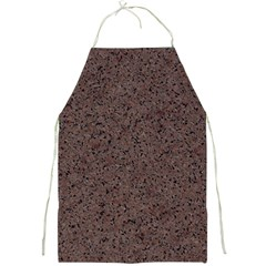 GRANITE RED-BROWN Full Print Aprons