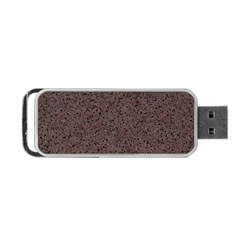 GRANITE RED-BROWN Portable USB Flash (One Side)