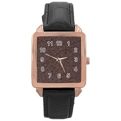 GRANITE RED-BROWN Rose Gold Watches