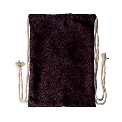 GRANITE RED-BROWN Drawstring Bag (Small)