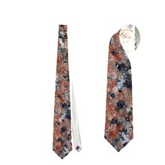 GRANITE RED-BLACK Neckties (One Side)