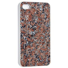 GRANITE RED-BLACK Apple iPhone 4/4s Seamless Case (White)