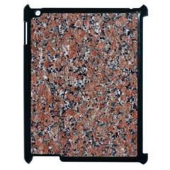 GRANITE RED-BLACK Apple iPad 2 Case (Black)