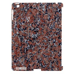 GRANITE RED-BLACK Apple iPad 3/4 Hardshell Case (Compatible with Smart Cover)
