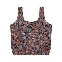 GRANITE RED-BLACK Full Print Recycle Bags (M)