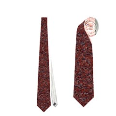 Granite Red 1 Neckties (two Side)