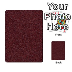 Granite Red 1 Multi Purpose Cards (rectangle)