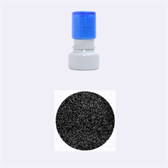 Granite Red 1 Rubber Round Stamps (small)