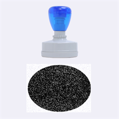 Granite Red 1 Rubber Oval Stamps