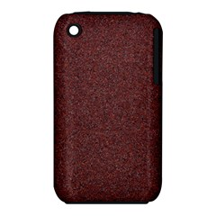 GRANITE RED 1 Apple iPhone 3G/3GS Hardshell Case (PC+Silicone)