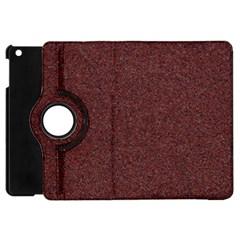 GRANITE RED 1 Apple iPad Mini Flip 360 Case