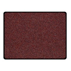 GRANITE RED 1 Double Sided Fleece Blanket (Small)