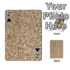 Granite Brown 3 Playing Cards 54 Designs