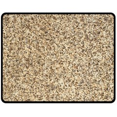 GRANITE BROWN 3 Fleece Blanket (Medium)