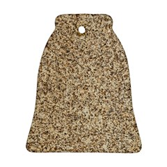Granite Brown 3 Bell Ornament (2 Sides)