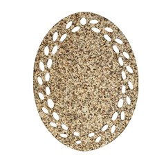 Granite Brown 3 Ornament (oval Filigree)