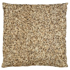GRANITE BROWN 3 Large Cushion Cases (Two Sides)
