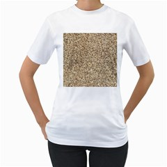 GRANITE BROWN 3 Women s T-Shirt (White)