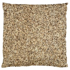 GRANITE BROWN 3 Standard Flano Cushion Cases (Two Sides)