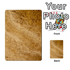 Granite Brown 2 Multi Purpose Cards (rectangle)