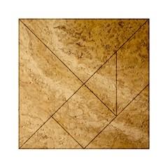 Granite Brown 2 Acrylic Tangram Puzzle (6  X 6 )