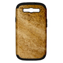 GRANITE BROWN 2 Samsung Galaxy S III Hardshell Case (PC+Silicone)