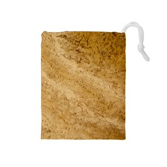 Granite Brown 2 Drawstring Pouches (medium)