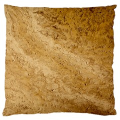 GRANITE BROWN 2 Large Flano Cushion Cases (One Side)