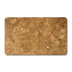 GRANITE BROWN 1 Magnet (Rectangular)