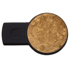 GRANITE BROWN 1 USB Flash Drive Round (2 GB)