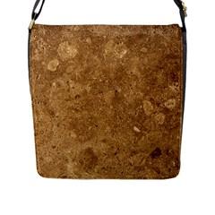GRANITE BROWN 1 Flap Messenger Bag (L)