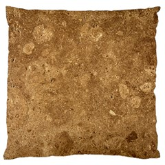 GRANITE BROWN 1 Standard Flano Cushion Cases (Two Sides)