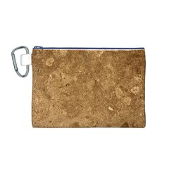 GRANITE BROWN 1 Canvas Cosmetic Bag (M)