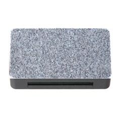 Granite Blue Grey Memory Card Reader With Cf