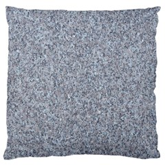 GRANITE BLUE-GREY Large Flano Cushion Cases (Two Sides)