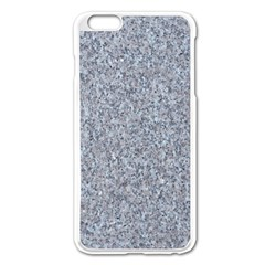GRANITE BLUE-GREY Apple iPhone 6 Plus/6S Plus Enamel White Case