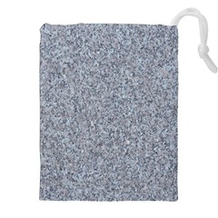 GRANITE BLUE-GREY Drawstring Pouches (XXL)