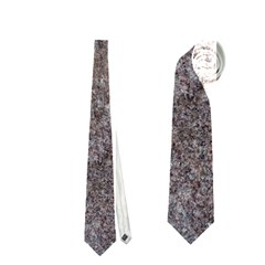 Granite Blue Brown Neckties (two Side)