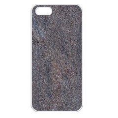GRANITE BLUE-BROWN Apple iPhone 5 Seamless Case (White)