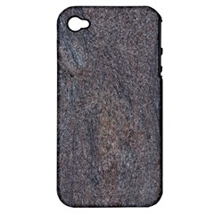 GRANITE BLUE-BROWN Apple iPhone 4/4S Hardshell Case (PC+Silicone)