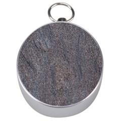 GRANITE BLUE-BROWN Silver Compasses