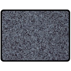 Granite Blue Black 3 Fleece Blanket (large)